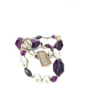 NWT Set of beaded stretch bracelets by Chicos 💝